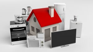 Home appliances covered under a home warranty