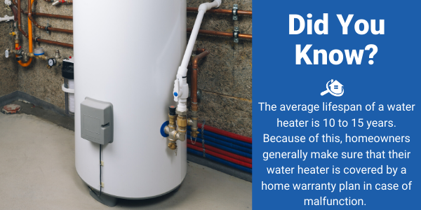 Home Warranty Coverage For A Water Heater