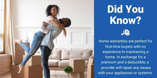 home warranty for a first time home buyer facts