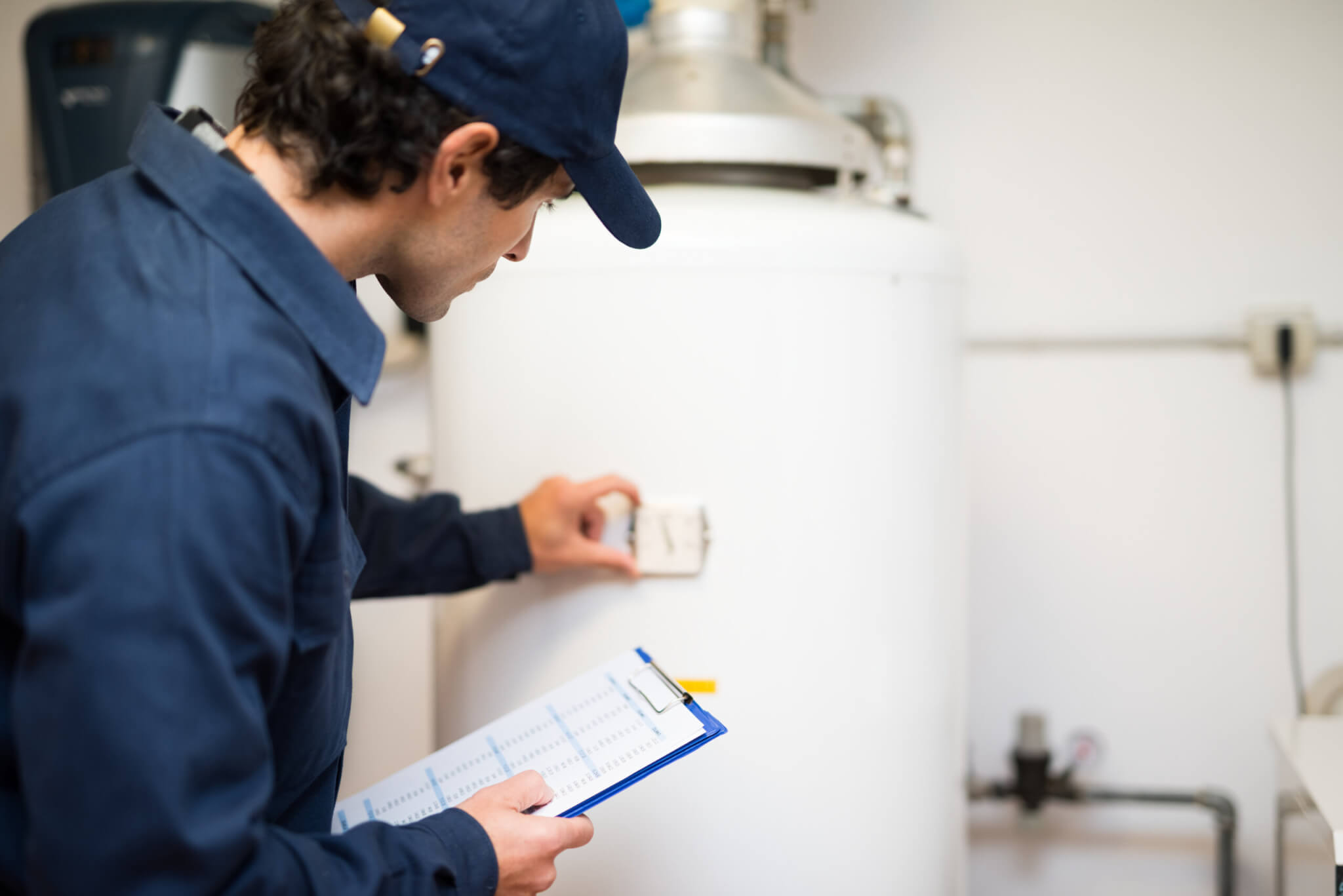 hot water heater repair with a home warranty