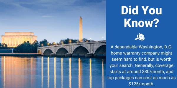 Washington D.C. Home Warranty Facts