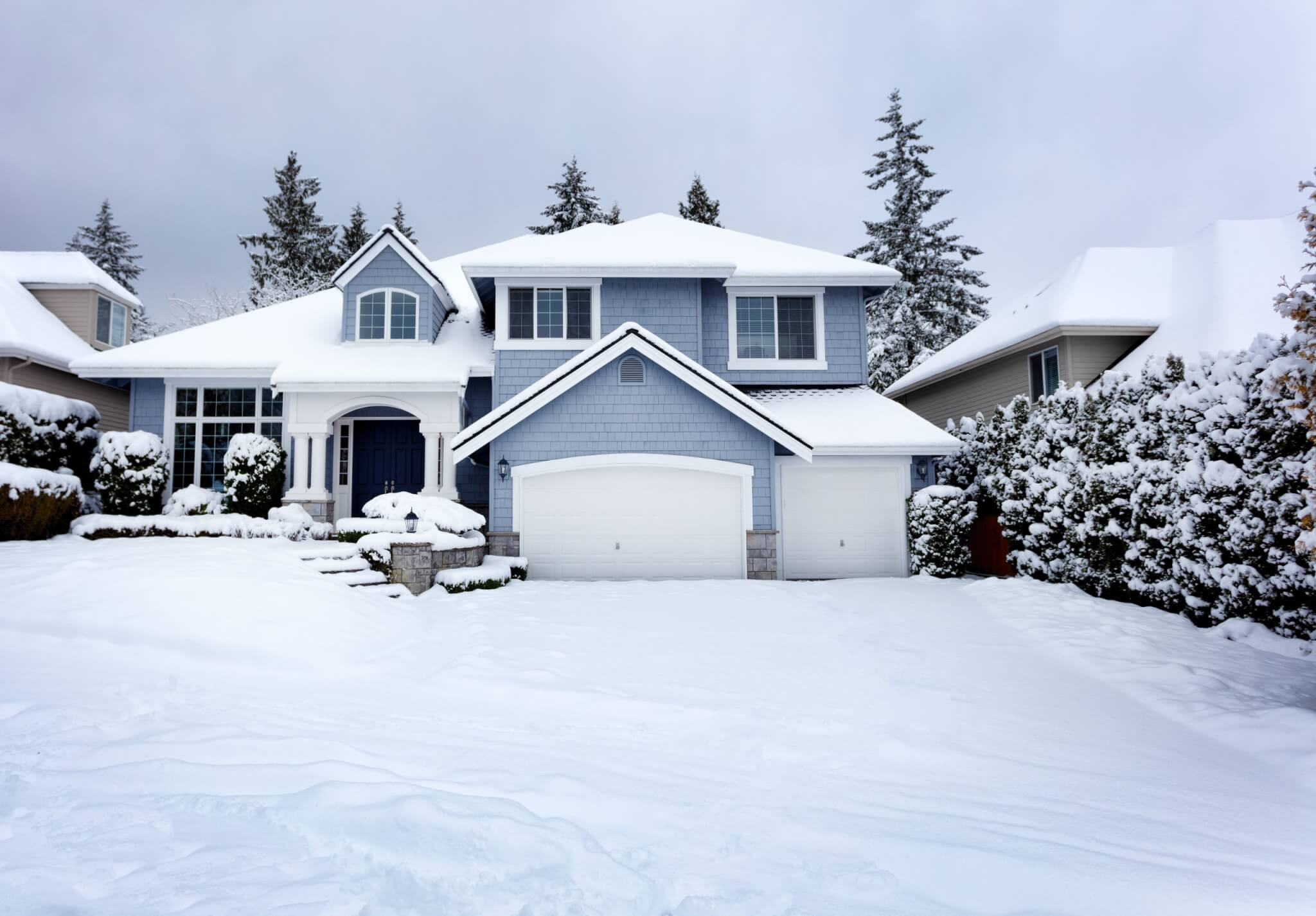 Home warranty for a winter home